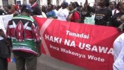 Waandamana kupinga ubakaji Kenya
