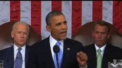 2014-01-29 美國之音視頻新聞: 奧巴馬總統發表國情咨文 闡述施政方案