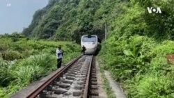 台灣數十年來最嚴重火車脫軌事故致48人死亡