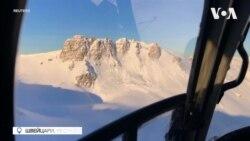 Контрольоване сходження лавини у Швейцарії. Відео