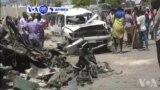 VOA60 AFIRKA: A Somalia, Wata Mota Dauke Da Bom Ta Tarwatse A Gurin Duba Ababen Hawa A Babban Birnin Kasar Yau Laraba