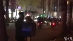 شلیک تیرهوایی توسط ماموران نیروی انتظامی در خیابان مطهری رشت