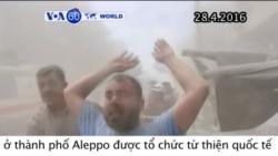 Không kích phá huỷ bệnh viện ở Syria, ít nhất 14 người chết (VOA60)