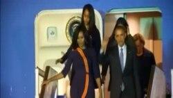 奧巴馬訪問阿根廷
