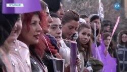 Eşi Tarafından Öldürülen Kadın İçin Hemcinslerinden Hem Taziye Hem Eylem