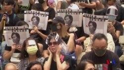 香港民間家長團體呼籲學生返回校園 (粵語)
