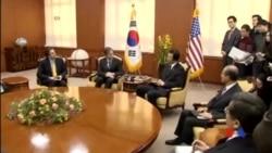 2016-01-20 美國之音視頻新聞: 美韓促中國制裁平壤
