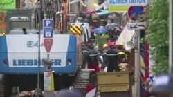 2018-11-06 美國之音視頻新聞: 法國馬賽建築物倒塌導致一死多人失蹤