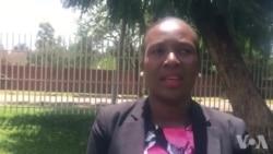 Abigail Matsvai Speaking About Women