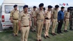 بھارتی زیر انتظام کشمیر، ہلاک پولیس والوں کی تدفین
