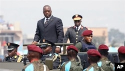 Joseph Kabila President of the Democratic Republic of Congo, June 30 2010