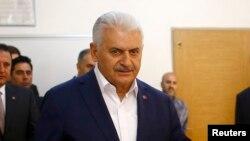 土耳其总理比纳利·耶伊尔德勒姆