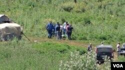 Greece crime scene
