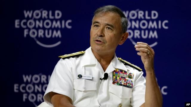 Đô đốc Harry Harris - Tư lệnh Bộ tư lệnh Thái Bình Dương (PACOM) của Hoa Kỳ.
