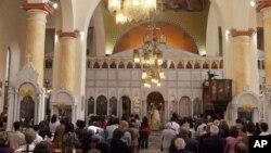 В католическом храме. Дамаск, Сирия (архивное фото, 2008 год)