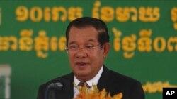 ကေမၻာဒီးယားဝန္ႀကီးခ်ဳပ္ Hun Sen. (ေဖေဖာ္ဝါရီ ၇၊ ၂၀၂၁)