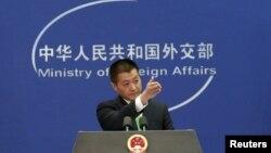 Juru Bicara Kementerian Luar Negeri China,Lu Kang(Foto: dok).