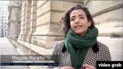 Maggie Murphy, Transparency International (Photo: VOA/videograph)
