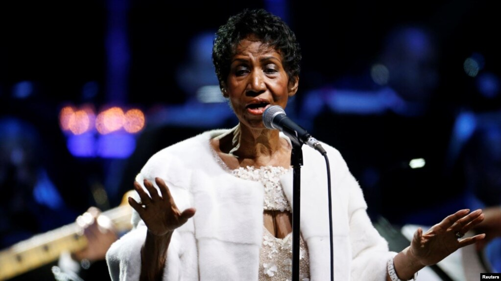 "Vdes Aretha Franklin, diva e muzikës ""soul"""