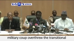 VOA60 Africa - Burkina Faso: Negotiators announce plan to end the crisis after a military coup - September 21, 2015