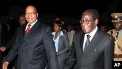 ZIMBABWE Pictures - President Zuma and Mugabe
