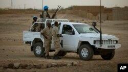 马里联合国维和军人