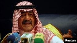 사우디아라비아 정보부장인 반다르 빈 술탄 왕자. (자료사진)