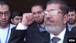 Egyptian President-Elect Mohamed Morsi on Road to Presidency