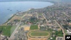 Vista da cidade de Cabinda