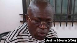 Alphonse Ndongo, analyste économique, à Brazzaville en 2018, le 29 janvier 2019. (VOA/Arsène Séverin)