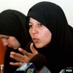 Faezeh Hashemi, puteri mantan Presiden Iran, Akbar-Hashemi Rafsanjani