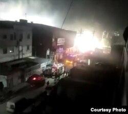 北京大兴廉价公寓火灾致19死8伤,遇难者多为未来打工者。(网络截图)