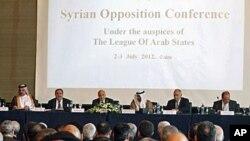 2일 열린 아랍연맹 회의.