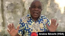 Clément Mierassa à Brazzaville, le 12 juin 2018.(VOA/Arsène Séverin)