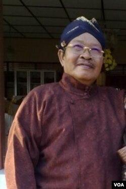 Toyo Santoso Dipo, mantan bupati di Kabupaten Kulonprogo, DI Yogyakarta (Foto: VOA/TSD-Nurhadi)