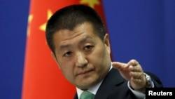루캉 중국 외교부 대변인 (자료사진)