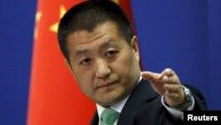 Juru bicara Kementerian Luar Negeri China Lu Kang mengecam pernyataan Menlu G-7 (foto: dok).