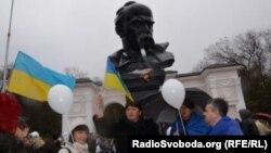 В Сімферополі пройшла акція за мир та єдність України