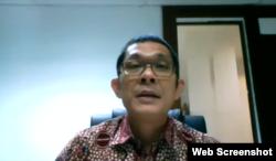 Abetnego Tarigan Deputi II Kantor Staf Presiden. (Foto: Screenshot)