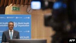 El director general de la OMS, Tedros Adhanom Chebreyesus, se mostró esperanzado con los resultados de un esteroide antiinflamatorio que ha reducido las muertes en los casos de COVID-19 más complicados.