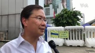 中国逮捕传播反送中歌曲的活动人士 香港议员抗议