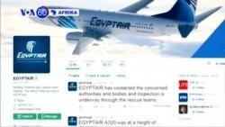 VOA60 Afrika: Ndege ya Egyptair MS805 iliopotea ikiwa na abiria 66 bado haijapatana.