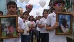 Funerales tras alud de lodo en Guatemala