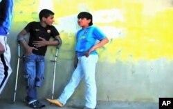 Ο Μοχάμεντ Αχμέντ και ο Σαντίκ Αλί ήταν πάντα αχώριστοι φίλοι.