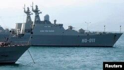 Ảnh minh họa: Tàu hải quân Việt Nam tại Cam Ranh.