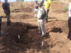 Report on Demining Exercise Filed By Patricia Mudadigwa