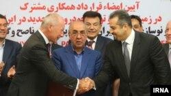 ایران و شرکت رنو فرانسه قرارداد همکاری امضا کردند
