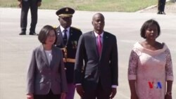 蔡英文訪問海地鞏固加勒比邦交