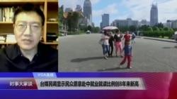 VOA连线(张永泰):台媒民调显示民众愿意赴中就业就读比例创8年来新高