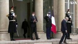 French President Macron Holds Counterterrorism Talks with Austrian Chancellor Kurz